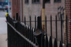 ogrodzenie żelazne