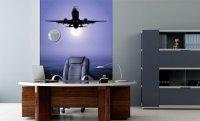Fototapeta z samolotem w biurze