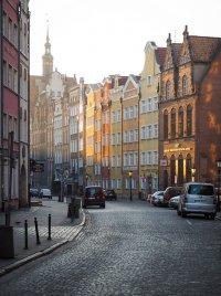 poranek w Gdańsku