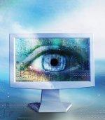 oko na monitorze